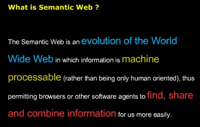 Definition Semantic Web