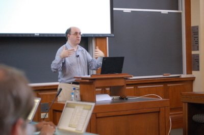 Stephen Wolfram at Harvard Law School April 2009