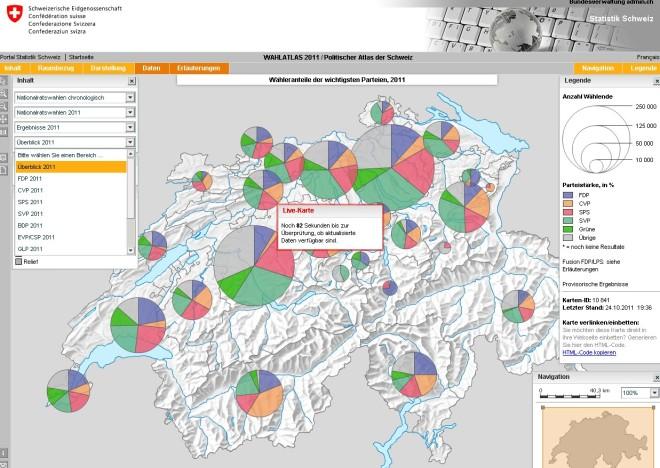 Wahlatlas Schweiz