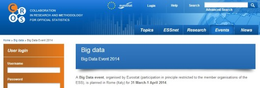 Big Data Events