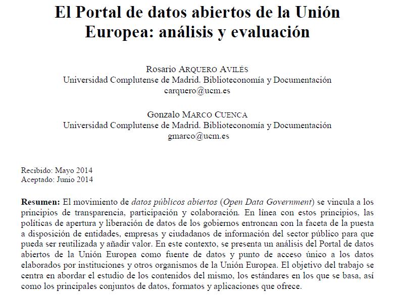 2014-07-30_EUPortal-Report