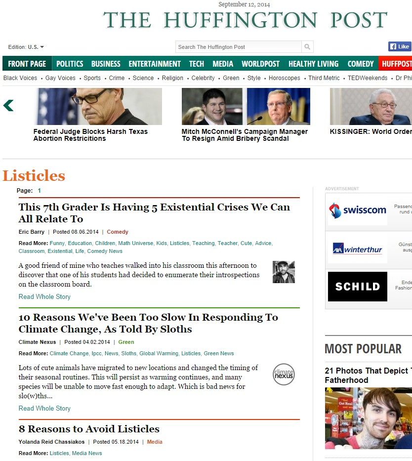 2014-09-12_Huffpost-Listicles