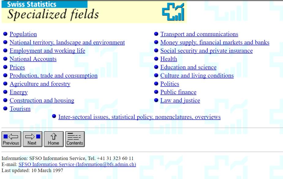 SwissStats-fields